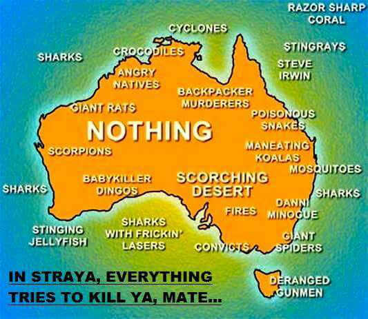 Map Of Australia Funny.Australia Map 9gag