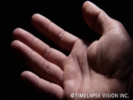Why you leave behind fingerprints.