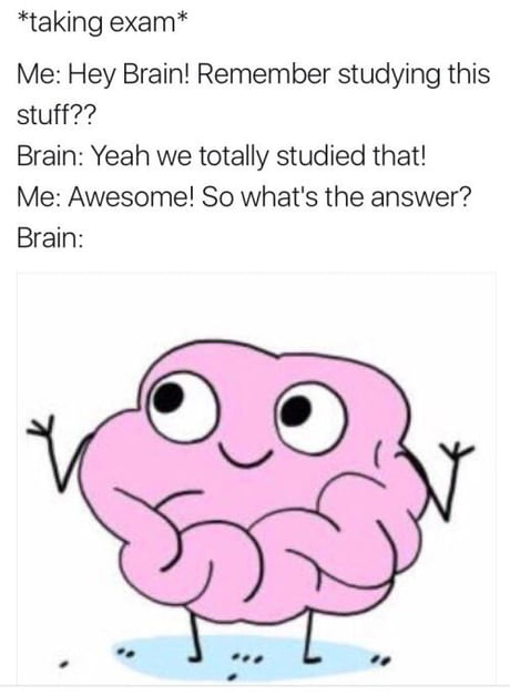 Me in exams