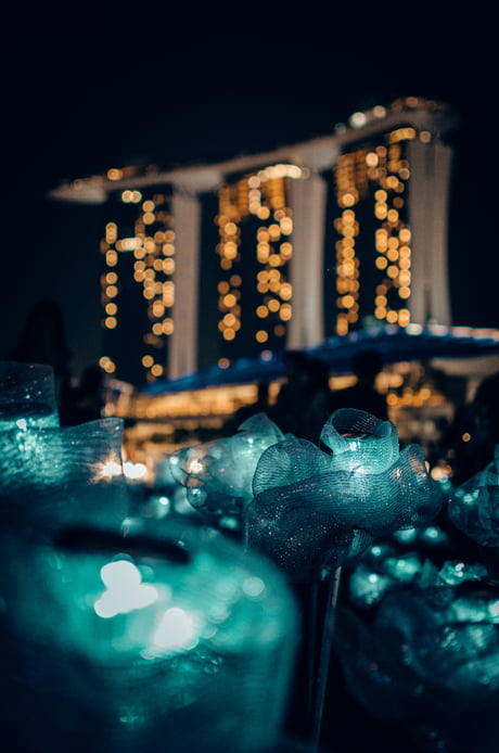 This photo captured by me won 3rd prize in a photography competition. Marina Bay, Singapore