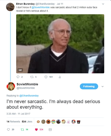 Best 30+ Larry David Fun On 9GAG