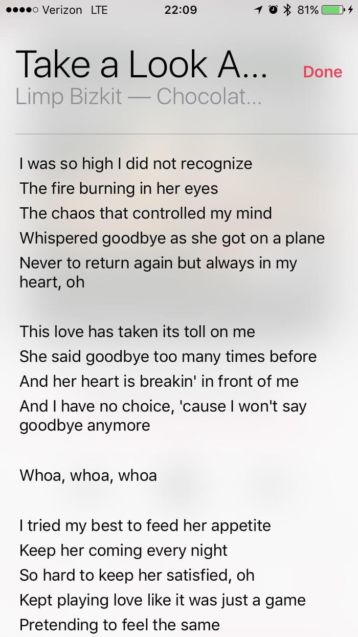 She says goodbye to many times before lyrics