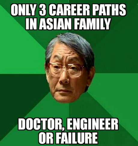 Asian parents in nutshell