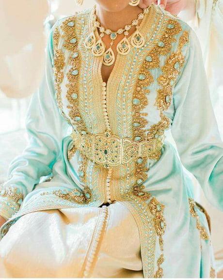 Moroccan bridal caftan
