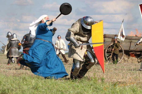 MedievalUnknown Battlegrounds. Nerf the Pan!