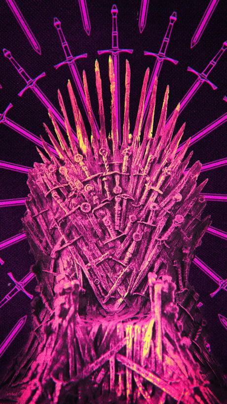Iron Throne Wallpaper From The Verge 9gag