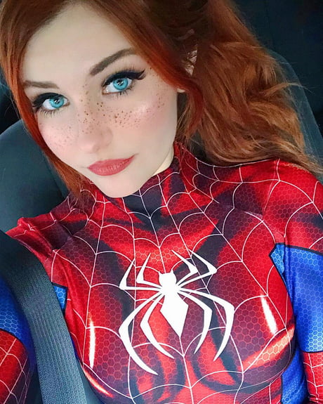810b441f8a Spider-Woman Mary Jane by Ri Care - 9GAG