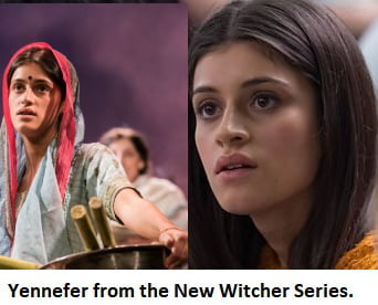 Yennefer from the new Witcher series acording to Netflix  - 9GAG