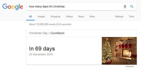 How Many Days Till Christmas Google.Best 30 Till Christmas Fun On 9gag