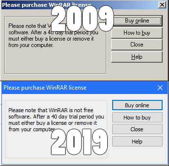 Winrar 10 year challenge - 9GAG