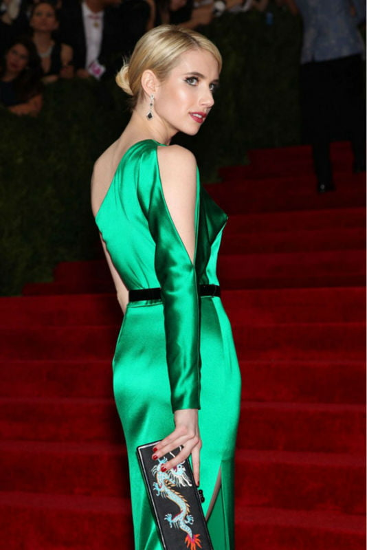 Emma Roberts Met Gala 2015 9gag