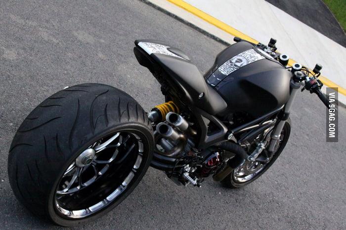 Ducati Monster 1100 Wayne Ransom Edition My Dream Bike 9gag