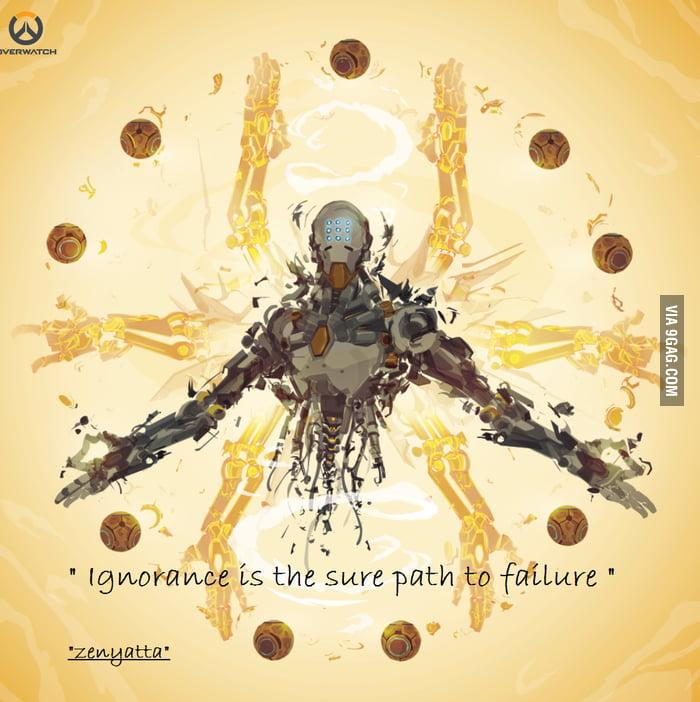 Another Zenyatta Wise Quote 9gag