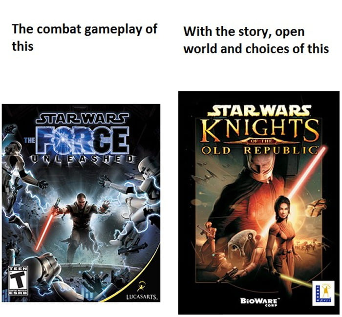 Star Wars Action Adventure RPG - The Perfect Blend
