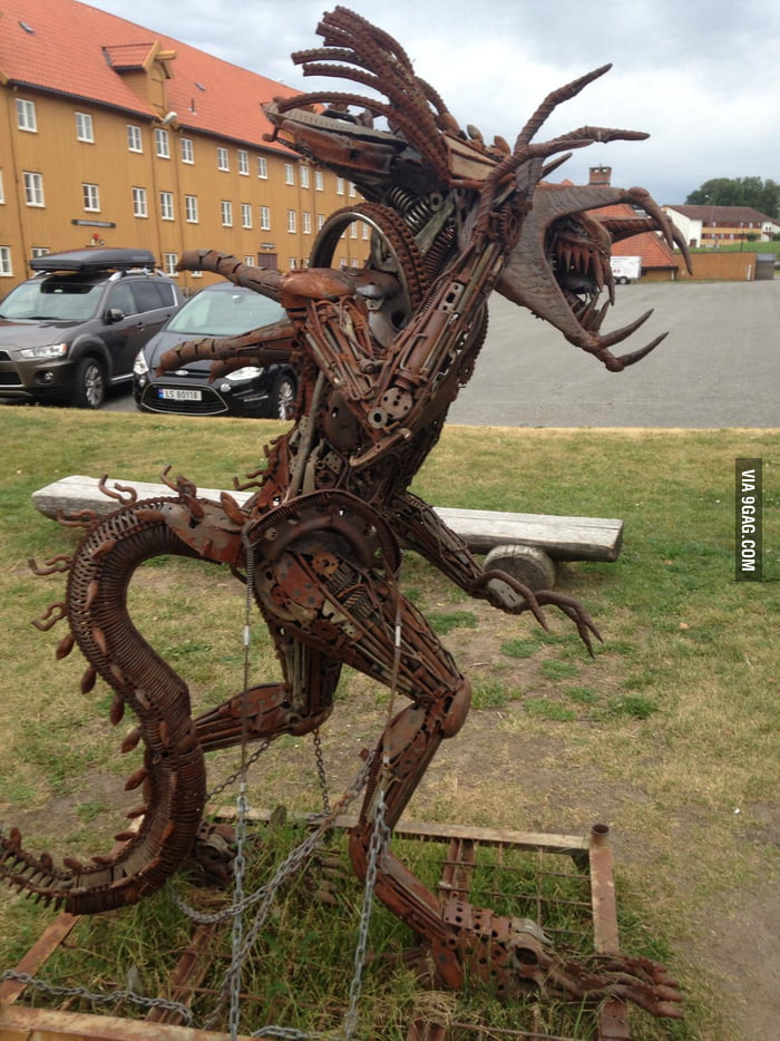 Old Car Parts And A Welder Can Make Amazing Things 2 0 9gag