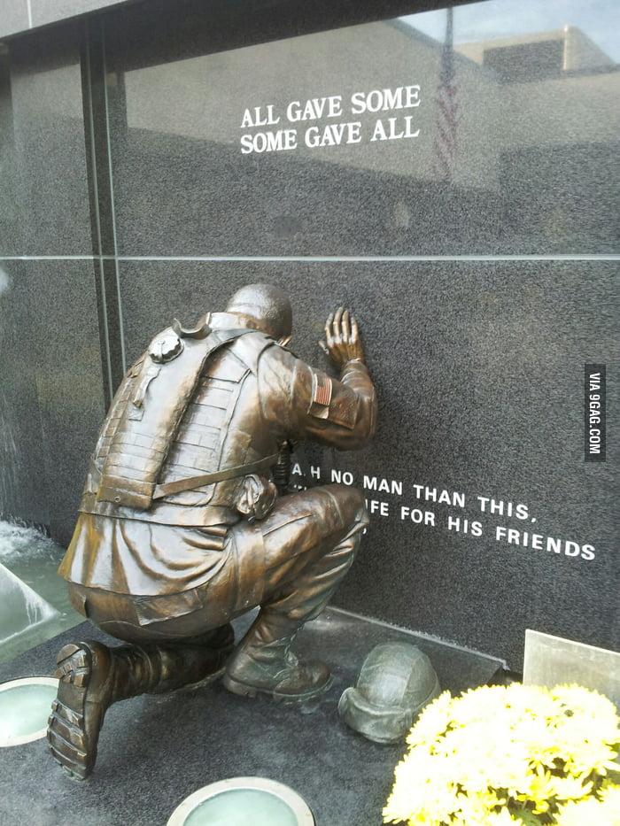 New memorial in town.. so many feelings