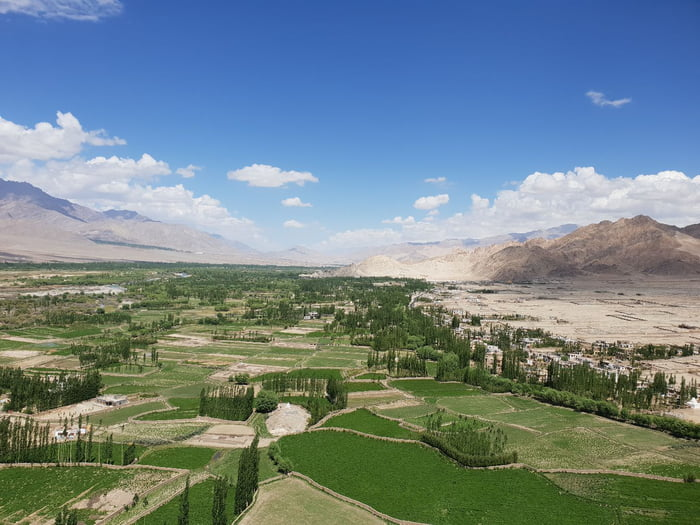 Leh India Is The Highest Cold Desert In The World Look At The