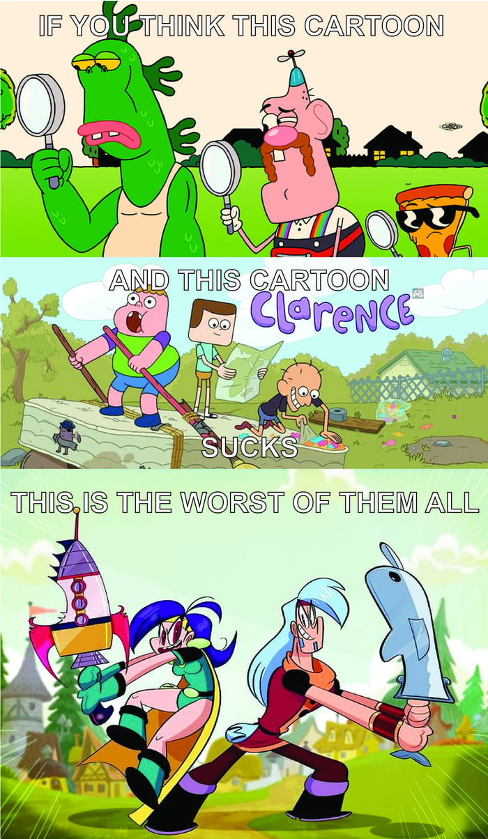 If You Think Uncle Grandpa And Clarence Sucks Wait Till You Watch Mighty Magisword