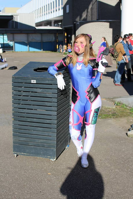 D.va cosplay I wore this weekend.