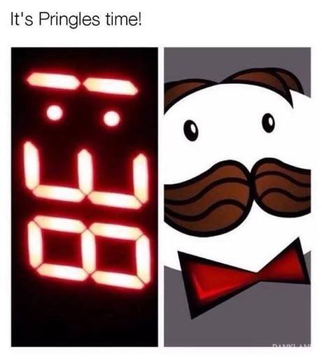 It's pringles time!