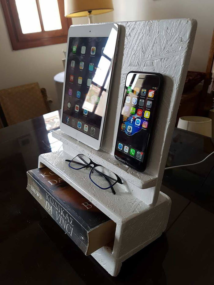 My Bedside Table: Bedside Table Organiser/charging Dock I Made For My