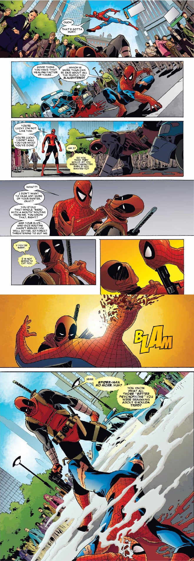 Love this Comic.(Deadpool kills the Marvel universe)