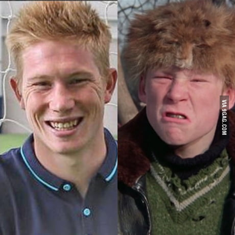 Christmas Story Bully.I See No Difference Between De Bruyne And The Bully From A