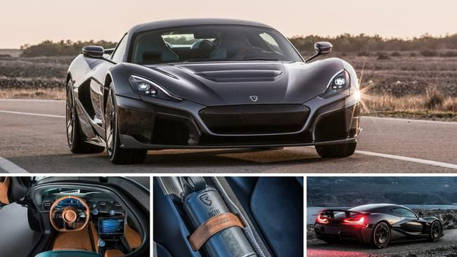 Rimac C2 0 60 1 85sec Top Sd 412kmh 258mph Range 650km 400miles All Electric Hypercar What Do You Guys Think