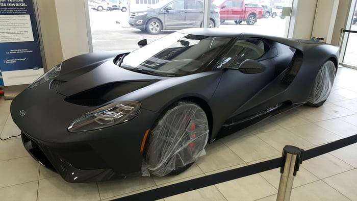 Ford Gt In Canada