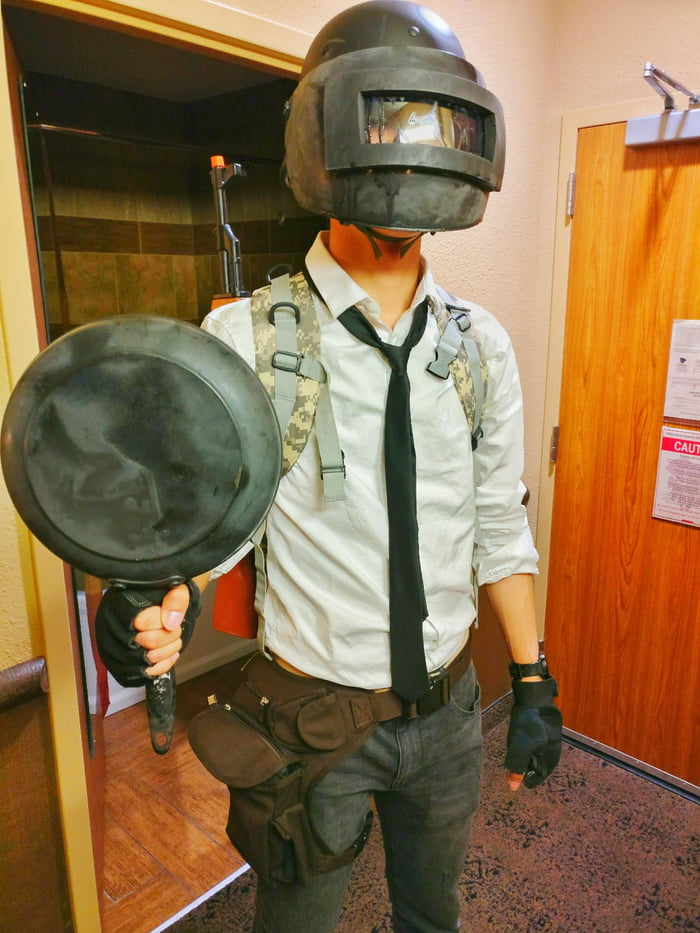 So.. This Is My PUBG Cosplay. What Do You Think?
