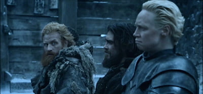 Find someone who looks at you the same way Tormund looks at Brienne of Tarth.