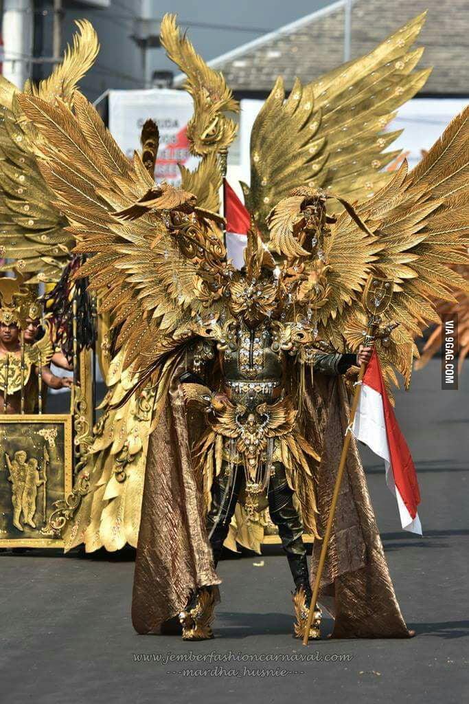 Jember Fashion Carnaval - Indonesia. - 9GAG