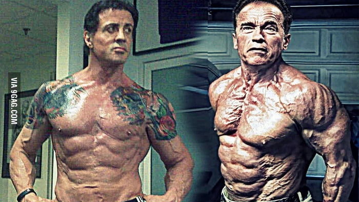 Arnold Schwarzenegger Amp Sylvester Stallone 70 Years Old And They Still Look Like Badass