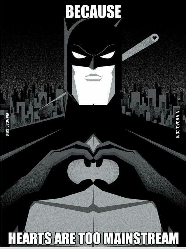 Spread The Batlove Flies Towards The Bat Symbol In The Sky 9gag
