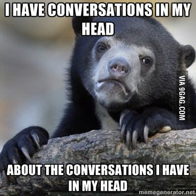 They are more frequent than conversation in real life