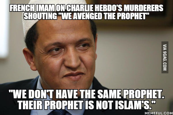 As a non-muslim french guy, I think we should listen to people like this man. Je Suis Charlie