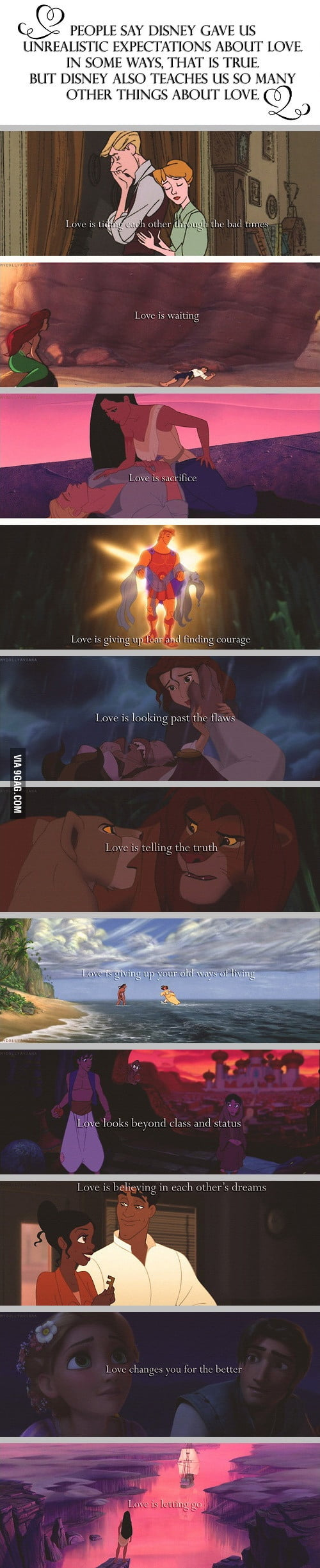 I know Disney is unrealistic but...