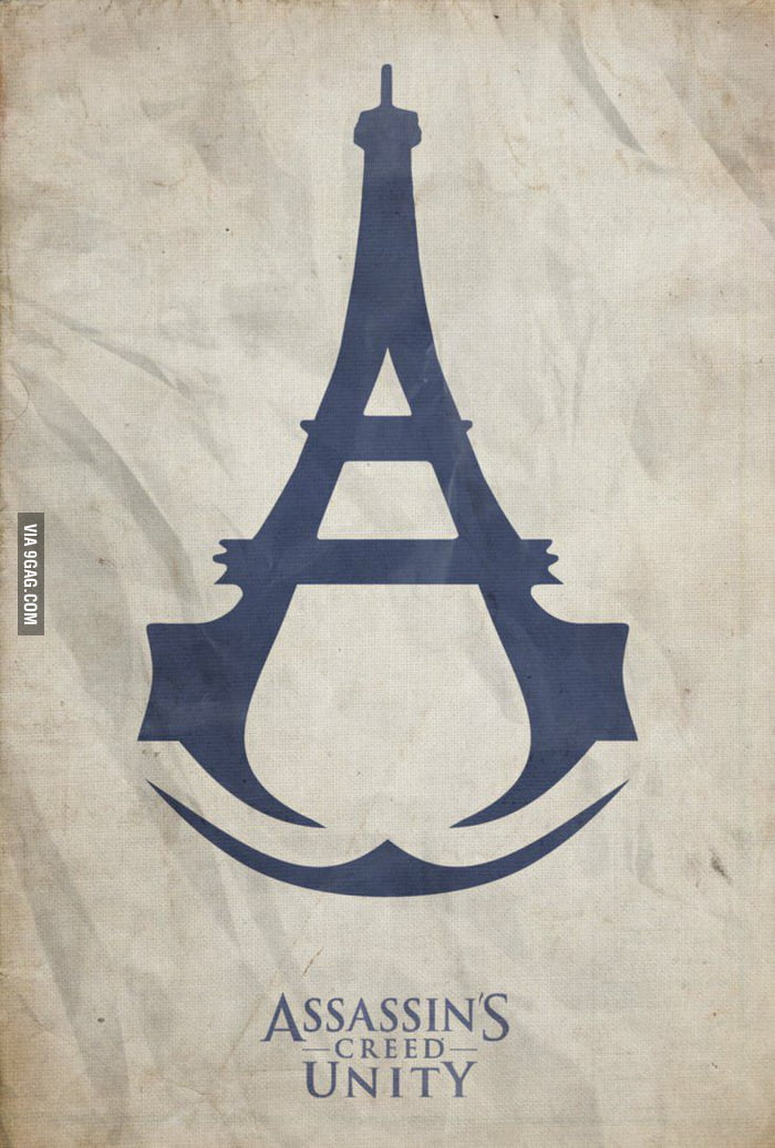 The Best Assassin S Creed Unity Logo 9gag