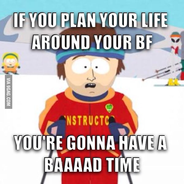 My overly attached 2 yr ex still says I ruined her life - 9GAG