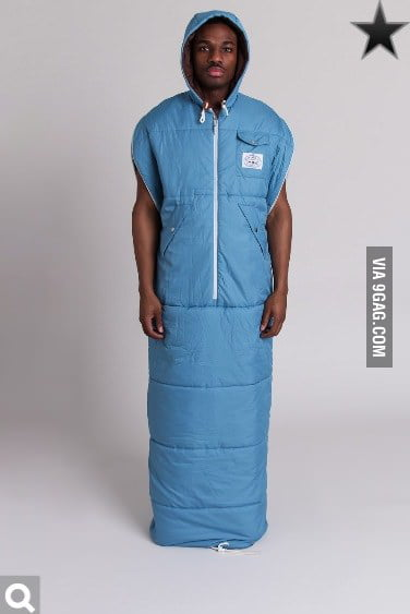 I Take Your Snuggie And Raise You A Wearable Sleeping Bag