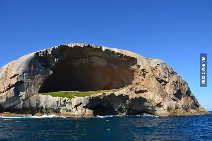 "Cleft Island, ""Skull Rock"", Wilsons Promontory National Park, Australia"