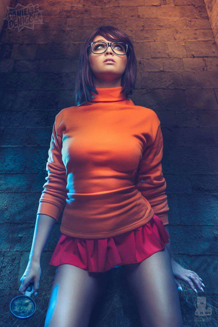 There Scooby doo velma naked cosplay have appeared