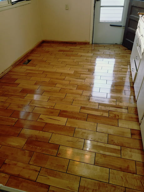 @chasduran , could not figure out how to upload in to the comments but this is the finished floor, Golden Oak Stain and 4 coats of Poly.