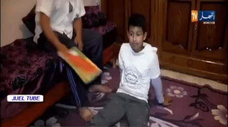 This kid had his family convinced that he is under a spell preventing him from going to school/studying
