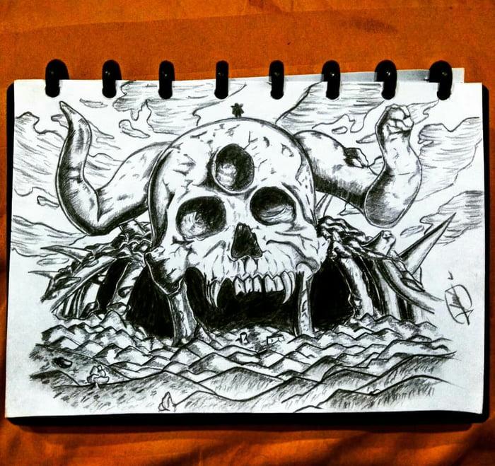 Demon Skull From Black Clover 9gag