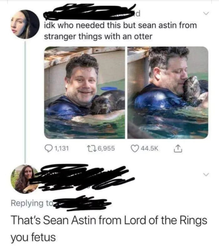 Ummm That S Sean Astin From Goonies You Uncultured Swine 9gag This topic has been deleted. ummm that s sean astin from goonies you