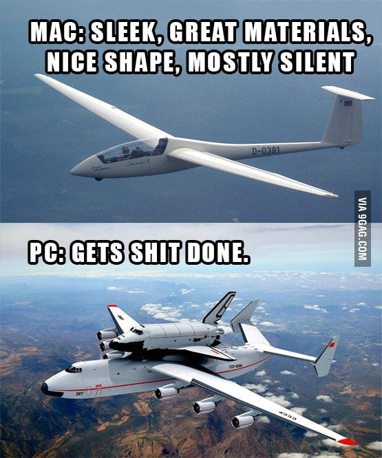 aAp7bAL_700b if macs and pcs were airplanes 9gag