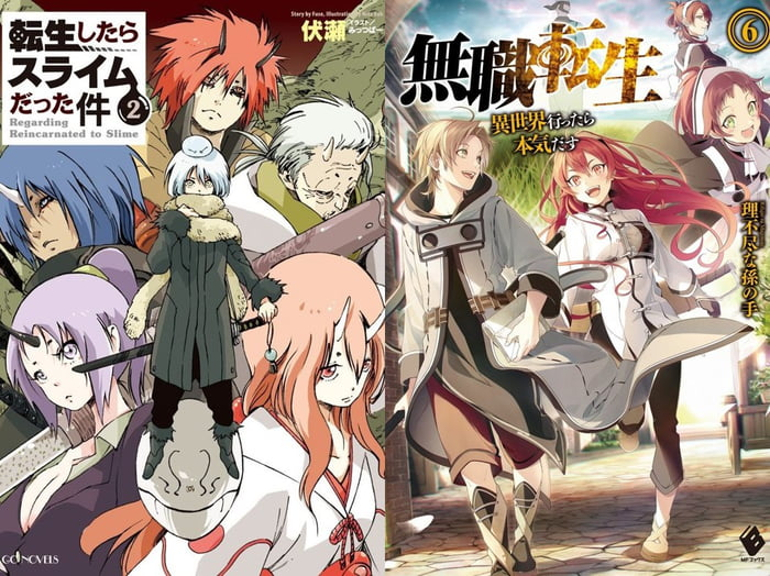 I read a lot of isekai mangas, these both are my favorite, I
