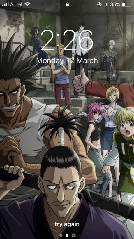 Wallpaper War Phantom Troupe
