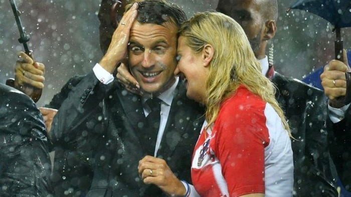 The love between France and Croatia will now be eternal